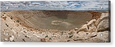 Meteor Crater Acrylic Print