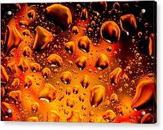 Meteor Diffusion Acrylic Print