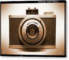 Meteor Film Camera Acrylic Print
