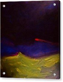 Meteorite Acrylic Print by Chris  Riley
