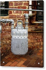 Meter II In Athens Ga Acrylic Print by Flavia Westerwelle