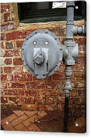 Meter In Athens Ga Acrylic Print by Flavia Westerwelle