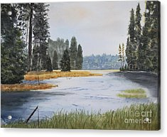 Metolius River Headwaters Acrylic Print