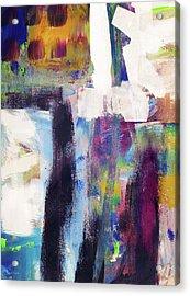 Metro 1- Abstract Art By Linda Woods Acrylic Print