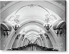 Metro Arbatskaya Acrylic Print