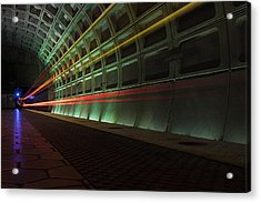 Metro Lights Acrylic Print