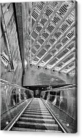 Metro Line 4 Structures, Budapest 3 Acrylic Print