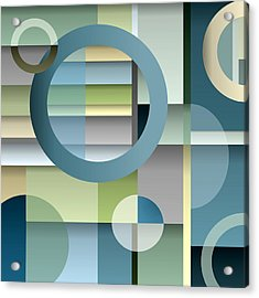 Metro Acrylic Print