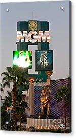 Metro The Mgm Lion Acrylic Print by Andy Smy