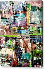 Metropolis II Acrylic Print by David Studwell