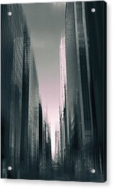 Metropolis II Acrylic Print by Jessica Jenney