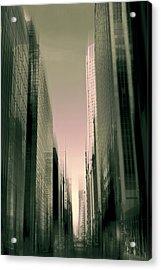 Metropolis Acrylic Print by Jessica Jenney