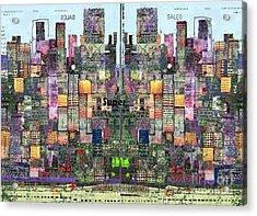 Metropolis Vi Acrylic Print by Andy  Mercer
