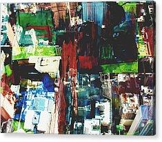 Metropolis Viii Acrylic Print by David Studwell