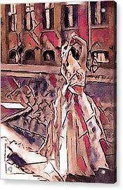 Metropolitan Ballet Acrylic Print