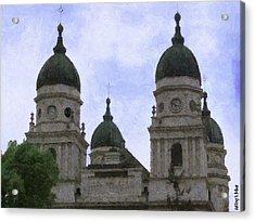 Metropolitan Cathedral Acrylic Print