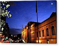 Metropolitan Museum Of Art Nyc Acrylic Print