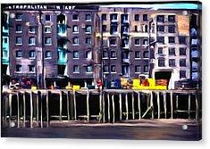 Metropolitan Wharf Acrylic Print