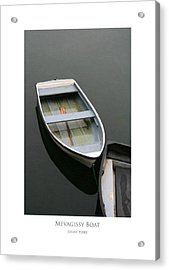 Acrylic Print featuring the digital art Mevagissy Boat by Julian Perry