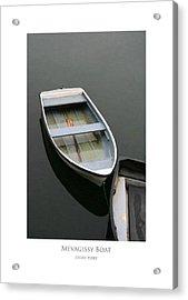 Mevagissy Boat Acrylic Print
