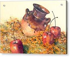 Mexican Apples 2 Acrylic Print by DEVARAJ DanielFranco