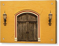 Mexican Door Acrylic Print