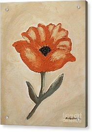 Mexican Flower Acrylic Print by Marsha Heiken