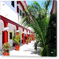Mexican Hacienda Acrylic Print