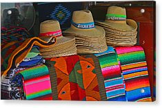 Mexican Hat Dance Acrylic Print by Gina Cormier