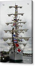 Mexican Navy Ship Acrylic Print