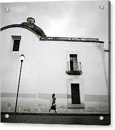 Mexican Twilight Acrylic Print by Shaun Higson