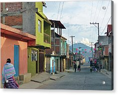 A Town Near Parocho Acrylic Print