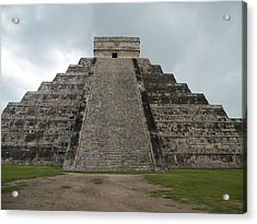 Acrylic Print featuring the photograph Mexico Chichen Itza by Dianne Levy