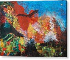 Mexico Acrylic Print by Frances Bourne