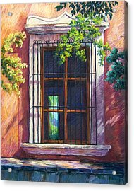 Mexico Window Acrylic Print by Candy Mayer