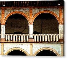 Mezzanine 3 Acrylic Print by Mexicolors Art Photography
