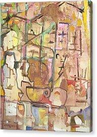 Mezzo Four Acrylic Print by James Christiansen