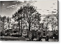 Mf 285 Tractor Acrylic Print by Kelly Reber