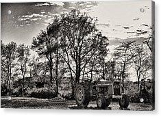 Mf 285 Tractor Acrylic Print