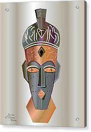 Mhask I I I Acrylic Print