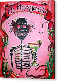 Mi Margarita Acrylic Print by Heather Calderon