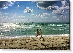 Miami Beach Acrylic Print