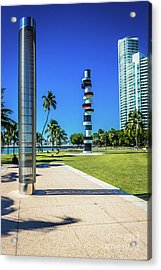 Miami Beach Series 4497 Acrylic Print