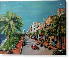 Miami For Daisy Acrylic Print