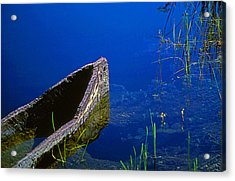 Miccosukee Boat Acrylic Print