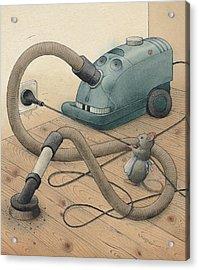 Mice And Monster Acrylic Print by Kestutis Kasparavicius