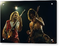 Michael And Eddie Acrylic Print