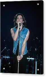 Michael Hutchence Of Inxs Acrylic Print
