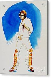 Michael Jackson - 30th Anniversary Acrylic Print by Hitomi Osanai