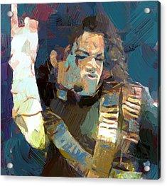 Michael Jackson 01 Acrylic Print